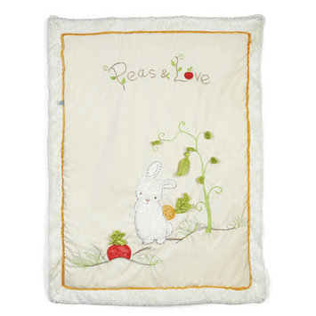Bunnies By The Bay Peas and Love Quilt