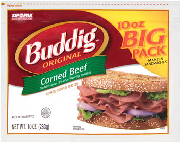 Buddig™ Original Corned Beef 10 oz. ZIP-PAK®