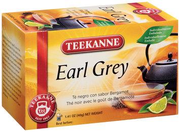 Teekanne® Earl Grey Tea 20 ct Tea Bags