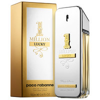 Paco Rabanne 1 Million Lucky Edt Spray .05oz/1.5ml Mens Cologne Sample Free Ship