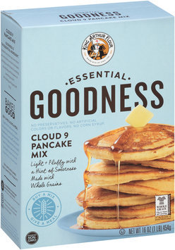 King Arthur Flour Essential Goodness Cloud 9 Pancake Mix 16 oz. Box