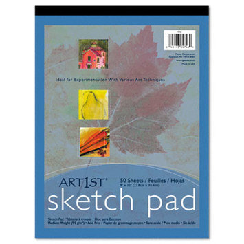 Pacon 9 X 12 Heavyweight Sketch Pad 50 Sheets