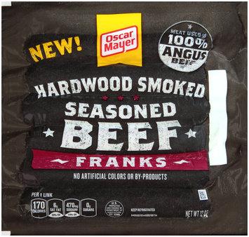 Oscar Mayer Hardwood Smoked Seasoned Beef Franks 6 ct Pack