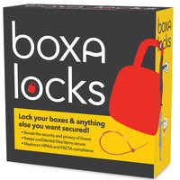Boxa Locks Shipping Mailing and Moving ZipTies