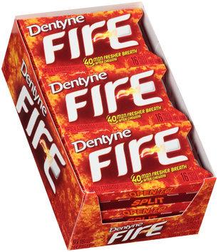 Dentyne Fire Spicy Cinnamon Sugar Free Gum 9-16 Piece Packs