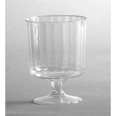 WNA Comet Plastic 5.5-Oz Wine Glass, Case of 240