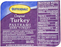 Butterball® Original Turkey Pastrami