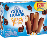 Good Humor Vanilla & Chocolate 1.75 Oz Snack Pops 12 Ct Box
