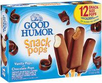 Good Humor Vanilla & Chocolate 1.75 Oz Snack Pops 12 Ct Box