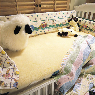 Snugfleece Snugsoft Deluxe Crib Wool Mattress Topper