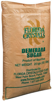 Florida Crystals Demerara Sugar 55.1 Lb Bag