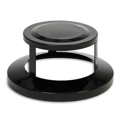 Anova Bonnet Top for 32 and 40 Gallon Receptacle Color: Black