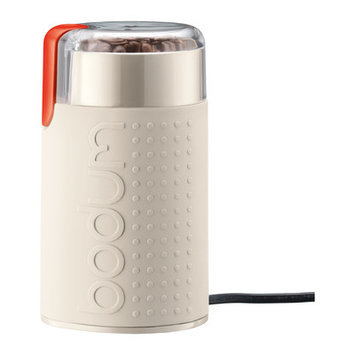 Bodum Bistro Electric Blade Coffee Grinder - Off White