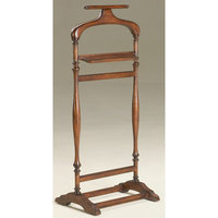 Butler Furniture Butler Specialty Valet Stand in Plantation Cherry Finish
