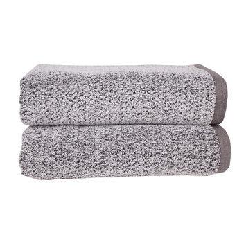 Fabbrica Home Diamond Jacquard Performance Core Bath Towel Color: Gray
