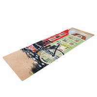 Kess Inhouse Bicycle by Christen Treat Yoga Mat