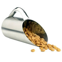 Pet Studio Stainless Steel Matte Finish Food Scoop 12-oz