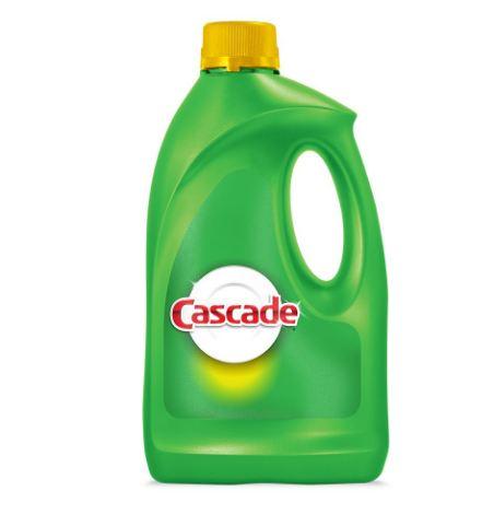 CASCADE® Gel Dishwashing Detergent Lemon Scent