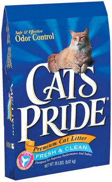 CAT'S PRIDE Premium Cat Litter Fresh & Clean 20 LB BAG