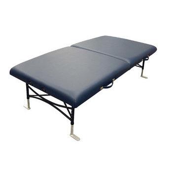 Oakworks Storable Mat Table Color: Blue grass, Width: 40