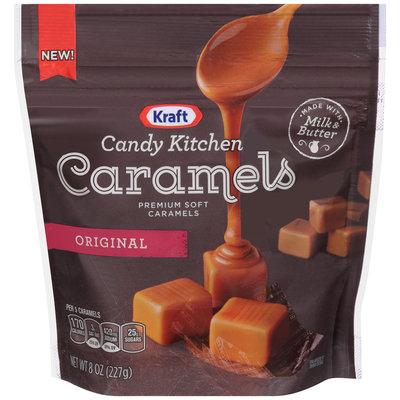 Kraft Candy Kitchen Original Soft Caramels 8 oz. Pouch