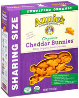 Annie's Homegrown® Organic Cheddar Bunnies® Baked Snack Crackers