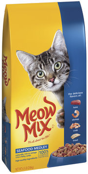Meow Mix Seafood Medley Dry Cat Food, 6.3-Pound