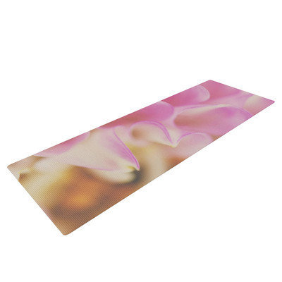 Kess Inhouse Up Close and Personal by Laura Evans Floral Yoga Mat