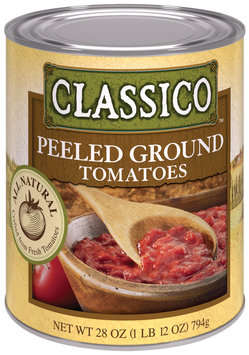 CLASSICO All Natural Peeled Ground Tomatoes