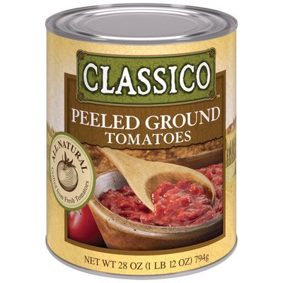 Classico™ All Natural Peeled Ground Tomatoes 28 oz. Can