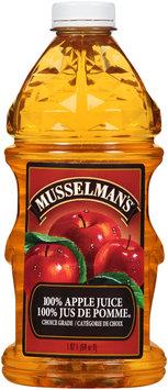 Musselman's® Choice Grade 100% Apple Juice 64 fl. oz. Bottle