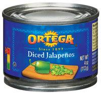 Ortega Diced Jalapenos 4 Oz Can