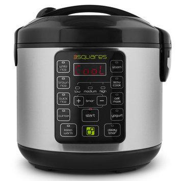 3 Squares Tim3 Machin3 20-Cup Rice Cooker (Black)