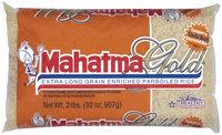 Mahatma Gold Extra Long Grain Enriched Parboiled Rice 32 Oz Bag