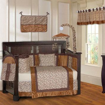Babyfad Leopard 10 Piece Crib Bedding Set Color: Brown