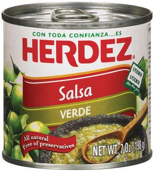 Herdez® Verde Salsa 7 oz. Can