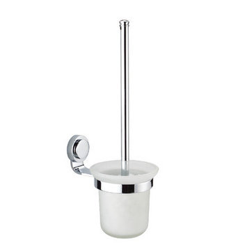 Dawn 94011118S Toilet Brush and Holder in Satin Nickel