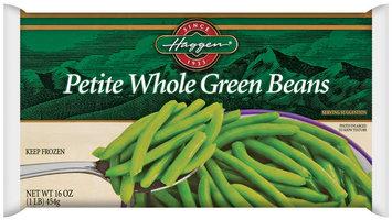 Haggen Petite Whole Green Beans 16 Oz Bag