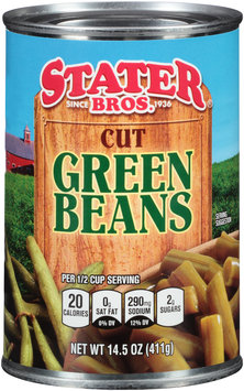 Stater Bros.® Cut Green Beans 14.5 oz. Can