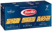 Barilla® Farfalle/Elbows/Rotini Pasta 7-1 lb. Boxes