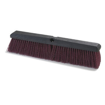 Carlisle 3620721800 - Floor Sweep Broom Foam, Heavy, Polypropylene Bri