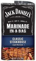 JACK DANIEL'S Steakhouse Marinade In-A-Bag 12 OZ BAG