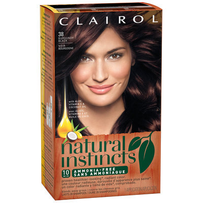 Clairol Natural Instincts 38 Burgundy Black Hair Color Kit Reviews
