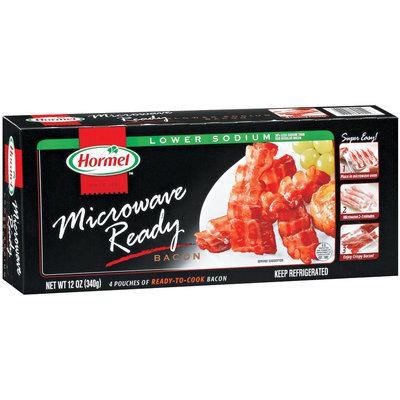 HORMEL Lower Sodium Microwave Ready 4 Pk Bacon 12 OZ BOX