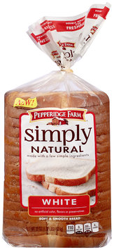 Pepperidge Farm® Simple Natural White Bread Loaf