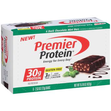 Premier Protein® Dark Chocolate Mint High Protein Bar 6-2.53 oz. Bars