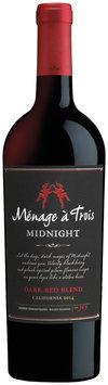 Menage a Trois Midnight California Dark Red Wine Blend 750mL Bottle