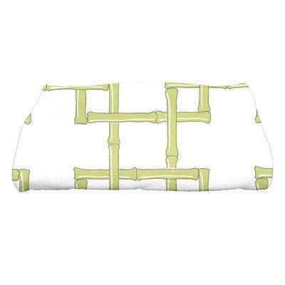 Bay Isle Home North Bay Bamboo 2 Geometric Print Bath Towel Color: Green