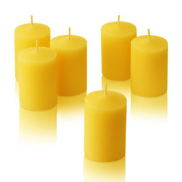 Light In The Dark Citronella Yellow Votive Candles (Set of 36)