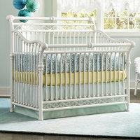 Babys Dream Furniture Inc Cirque Convertible Crib Finish: Snowdrift
